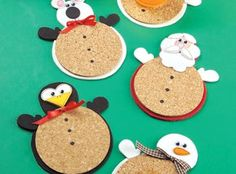 Craft Ideas : Projects : Details : christmas-friend-coasters