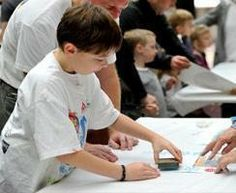 Family Program: Make Letterpress Art with Hatch Show Print Nashville, TN #Kids #Events