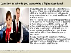 18 flight attendant interview questions and answers pdf