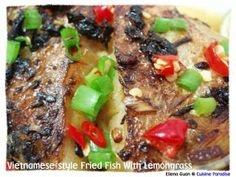 Cuisine Paradise | Singapore Food Blog | Recipes, Reviews And Travel: Vietnamese-Style Fried Fish With Lemon Grass