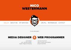 Nico Westermann media design #minimalwebsites  #webdesign #responsivewebdesign