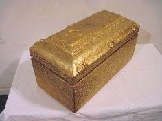 Vintage SALESMAN SAMPLE Burial Vault Burial Vaults, Memento Mori, Casket, Vaulting, Coffin, Cement, Funeral, Decorative Boxes, Miniatures
