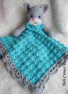 Ravelry: Cat Huggy Blanket Crochet Pattern pattern by Teri Crews