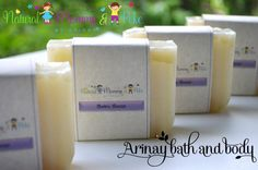 Productos presentados - Arinay Bath and Body- Handmade Natural Soaps and Lotions for Mom & Baby