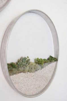 For Tiny Homes: Elegant Planters Let You 'Frame Up' Mini Gardens On The Walls - DesignTAXI.com