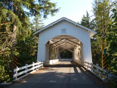 The 1936 Hannah Bridge.  One of the bridges surrounding Scio, OR.
