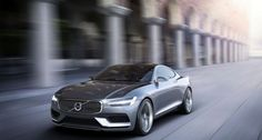 2013 Volvo Concept Coupe – the modern P1800