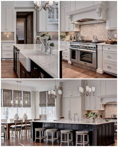 Love the color combination in this space by Kathryn Salyer Design? So do we! The kitchen cabinets and trim showcase our Color of the Year, Alabaster SW 7008, while the walls feature Balanced Beige SW 7037. But why stop at the kitchen? This same look would be gorgeous in a bedroom or bathroom, too.