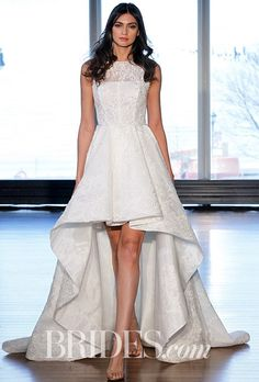 Unique High lows Spring Wedding Dress Trends Brides