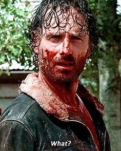 The Walking Dead season 6 - Rick Grimes Walking Dead Tv Show, Walking Dead Season, Fear The Walking Dead, Carl Grimes, Ju Jitsu, Fandoms, Andrew Lincoln, Zombie Apocalypse, Apocalypse Survival