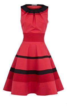 Red Karen Millen Dress