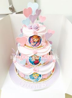 Disney Princess Cake by Hall of Cakes