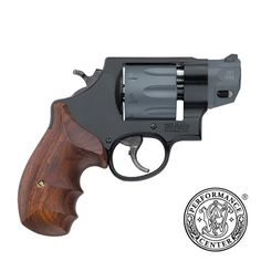 "S&W MODEL 327 - N frame, .357 Magnum/.38 +P Scandium alloy frame with a 8 round Titanium alloy cylinder. 2"" barrel, 21.4 oz weight."