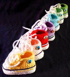 Babysneakers Turnschuh Babychucks Kirschkind