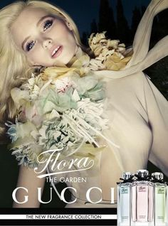 Gucci - Gucci Flora The Garden Fragrance S/S 12. I love love love love this picture.