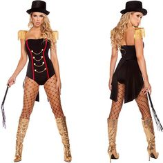 We Offer Best Sexy Ravishing Ringleader Circus Dress Ringleader Costume Halloween, High Quality Pirate Costumes and Cheaper Prices From CosplayMade Shop. Circus Halloween Costumes, Circus Costume, Boy Costumes, Halloween Cosplay, Halloween Outfits, Costumes For Women, Pirate Costumes, Family Costumes, Adult Halloween