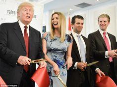 The Trump family dishonest, I'm shocked.
