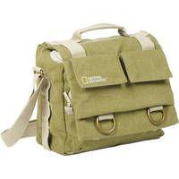 National Geographic Earth Explorer National Geographic 2346 Midi Messenger Bag (Khaki) $79