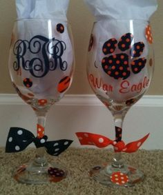 cricut machine ideas - Google Search  just repinning it because it's auburn haha :)