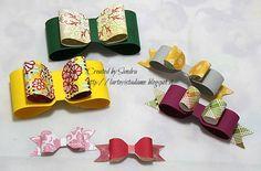 Fiocchi di carta fai da te con Envelope punch board – Paper bow Tutorial | l'arte vista da me