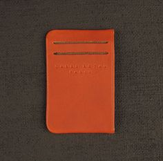 Carre Royal JA003 Card Wallet Canvas & Leather - Beige
