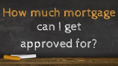Watch this animated video to know what the criteria is used to answer the question: how much mortgage can I get approved for. About this video: Knowing your . Home Buying, I Can, Company Logo, Animation, Canning, This Or That Questions, Logos, School, Animation Movies