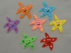 The Wielded Pen - Children's Corner: Five Little Starfish - A Flannel Friday