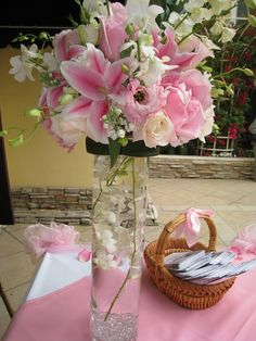 20 Stylish Fake Flower Vase Ideas - Wedding Flower Decoration Lovely Silk Wedding Flowers Striking H. See Also Fake Outdoor Flowers Fresh Fake Flower Arrangements Awful H Vases. Tall Vase Centerpieces, Centerpiece Decorations, Decoration Table, Flower Decorations, Tall Vases, Candle Vases, Bud Vases, Tall Floral Arrangements, Wedding Flower Arrangements
