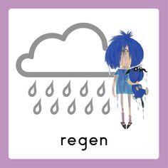 WELKOM weekkalender regen