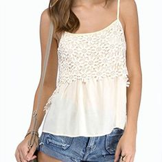 gotygotyfashion:- White-Daisy-Crochet-Lace-Overlay-Pleat-Detail-Cami-Top-2016-New-Fashion-Style-Summer-Women-Streetwear #whitedaisy#tops#topshop#crochetlace#overlay#overlays#camitop#camitopph #fashion#fashiondiaries #fashionista#fashionstyle#womenstreetwear#streetwear#