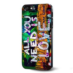 Beatles Graffiti - All You Need Is Love Samsung Galaxy S3 S4 S5 Case Samsung Galaxy Note 3 Case iPhone 4 4S 5 5S 5C Case Ipod Touch 4 5 Case
