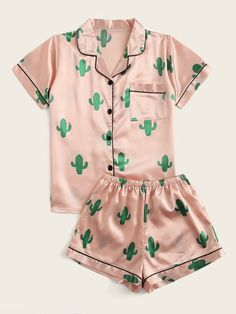 Cute Pajama Sets, Cute Pjs, Cute Pajamas, Pyjama Sets, Pj Sets, Girls Fashion Clothes, Teen Fashion Outfits, Girl Fashion, Gothic Fashion