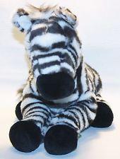 "Kohl's Cares For Kids ZEBRA Animal Planet Plush Stuffed Toy 12"" Long Lovey Soft"
