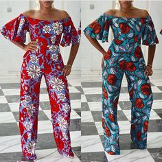 Love this design and you want to make for yourself? i have an archive of experienced designers who can make this. Also, are you a designer in need of a tailor to employ for your fashion outlet ? Call or whatSapp Gazzy Fashion Consults on African Fashion Designers, African Fashion Ankara, African Print Fashion, Africa Fashion, African Attire, African Wear, African Dress, African Print Jumpsuit, Ankara Jumpsuit