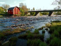 Was Kirkonkoski and museum watermill Kriikku, - Ylistaro, South Ostrobothnia province of Western Finland. - Etelä-Pohjanmaa,