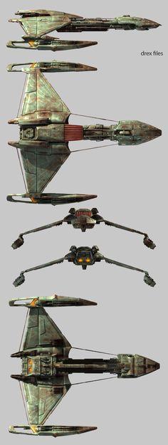 Klingon D5 Cruiser - Doug Drexler