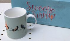 Swallow Design New Bone China Mug Gift Set #mug #giftset #swallow #giftideas