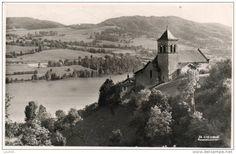 L'Eglise et le lac de Paladru