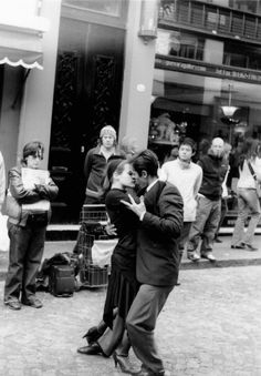 Tango in San Telmo, Buenos Aires - love how they just spontaneously dance in the middle of the streets....my favorite neighborhood