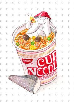 Studio Ghibli Watercolor Spirited Away Radish Spirit Cup