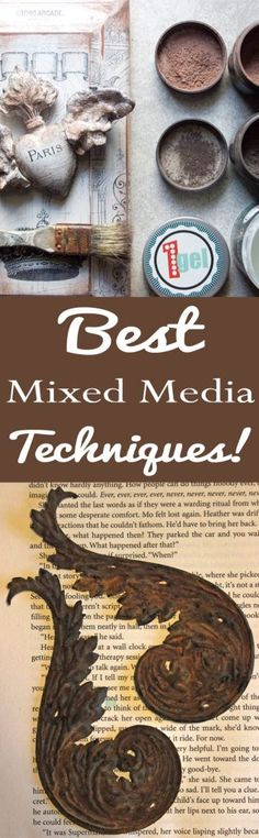 10 Best Mixed Media Techniques! - The Graphics Fairy