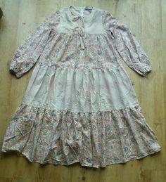 Vtg #foral dress #maternity alldae london folk #hippy gypsy boho retro 60s 70s 80,  View more on the LINK: http://www.zeppy.io/product/gb/2/151846601325/