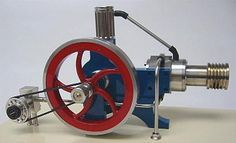 Vintage Stirling Cycle Engine Plans