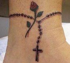 Beautiful religious tattoo.
