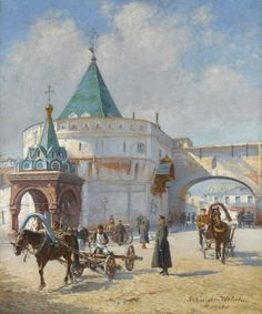 ÉMILE-SCHMIDT-WEHRLIN-19TH-20TH-CENTURY-VIEW-OF-MOSCOW