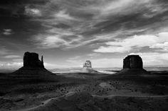 from Bobi Dojcinovski's series The American Southwest in Black and White (via Fubiz)