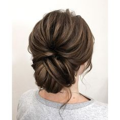 wedding hairstyle ideas + chic updo for brides, wedding hairstyle,wedding hairstyles, bridal hairstyles ,messy updo hairstyles,prom hairstyles #weddinghair #ha…
