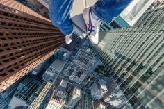 rooftopping, Toronto, photography  (I'd never, ever do this; kudos to those who do and let us see what it looks like —Stephanie)