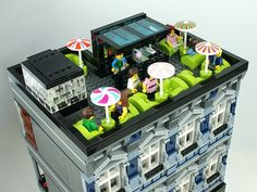 Lego Modular Building: Microsoft Store | Flickr - Photo Sharing!