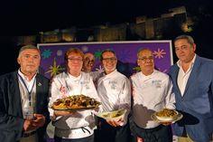El Showcooking, Cocina por la Paz en Calle Alcazabilla. Fue una experiencia realmente enriquecedora. #CocinaporlaPaz